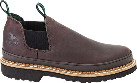 Men's Georgia Boot Georgia Giant Romeo Work Shoe, Soggy Brown Full Grain Leather, large, image 2