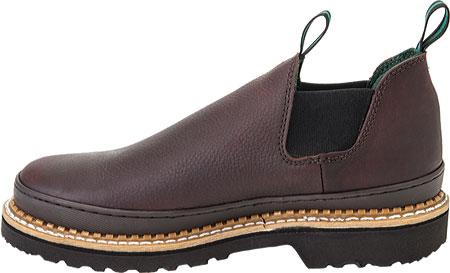Men's Georgia Boot Georgia Giant Romeo Work Shoe, Soggy Brown Full Grain Leather, large, image 3