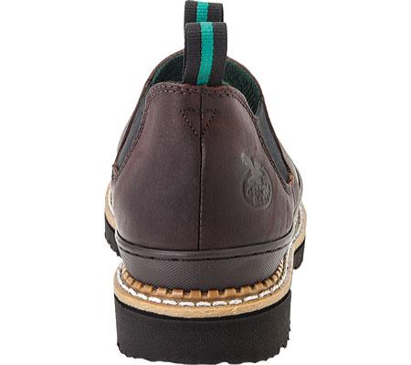 Men's Georgia Boot Georgia Giant Romeo Work Shoe, Soggy Brown Full Grain Leather, large, image 5