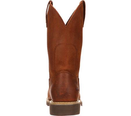 "Men's Georgia Boot G58 11"" Comfort Core Wellington Work Boot, Chestnut Prairie SPR Leather, large, image 5"