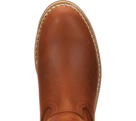 "Men's Georgia Boot G58 11"" Comfort Core Wellington Work Boot, Chestnut Prairie SPR Leather, large, image 6"