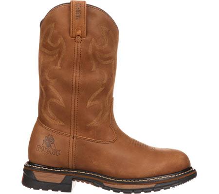 """Men's Rocky Branson 11"""" Steel Toe Waterproof Boot 2809, Aztec Crazy Horse, large, image 2"""