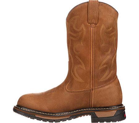 """Men's Rocky Branson 11"""" Steel Toe Waterproof Boot 2809, Aztec Crazy Horse, large, image 3"""