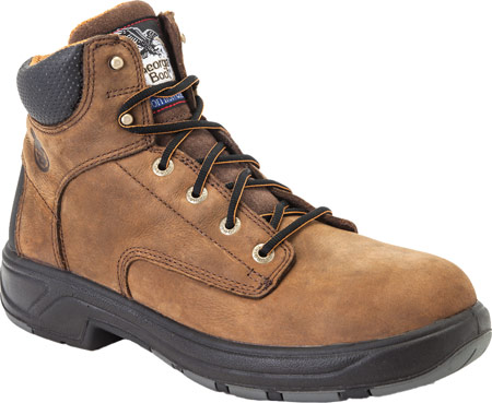 """Men's Georgia Boot G6644 FLXPoint Waterproof Composite Toe 6"""" Boot, , large, image 1"""