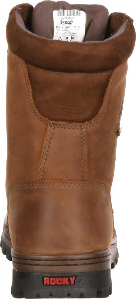 """Men's Rocky 8"""" Outback 8729, Brown1, large, image 4"""