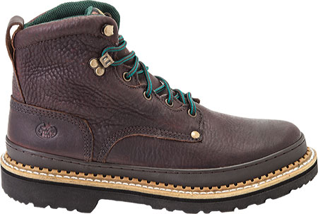 """Women's Georgia Boot G33 6"""" Safety Toe B Work Boot, Soggy Brown Full Grain Leather, large, image 2"""