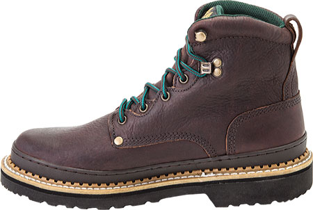 """Women's Georgia Boot G33 6"""" Safety Toe B Work Boot, Soggy Brown Full Grain Leather, large, image 3"""