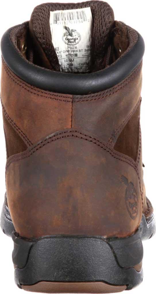 "Men's Georgia Boot G9453 Athens 8"" Moc-Toe, Brown1, large, image 5"