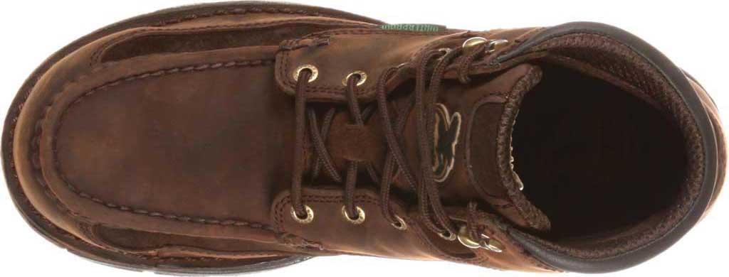 "Men's Georgia Boot G9453 Athens 8"" Moc-Toe, Brown1, large, image 6"