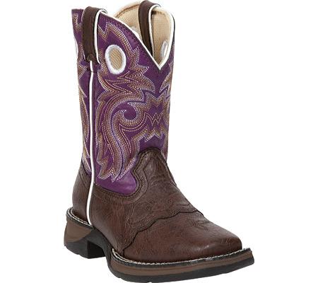 Children's Durango Boot BT386 Lil' Durango, Dark Brown/Purple, large, image 1