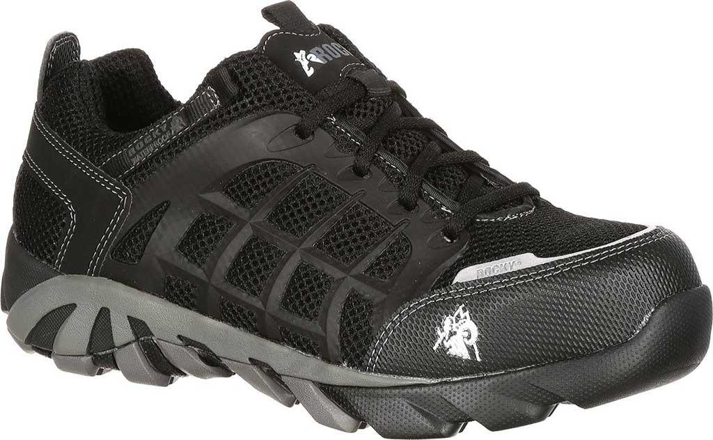 Men's Rocky TrailBlade Composite Toe 6075, Black, large, image 1