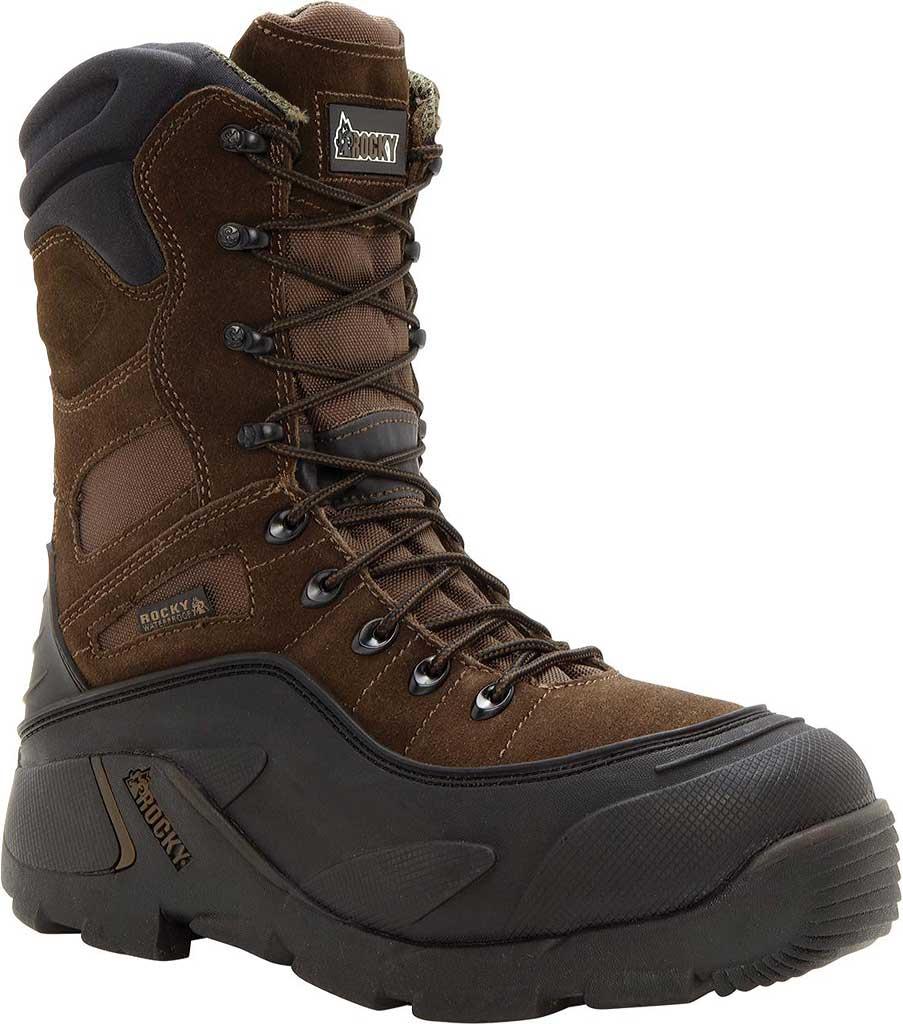 "Men's Rocky BlizzardStalker 9"" Steel Toe 7465 Boot, Brown, large, image 1"