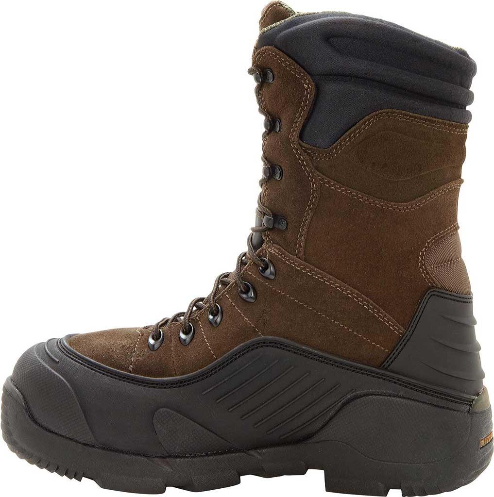 "Men's Rocky BlizzardStalker 9"" Steel Toe 7465 Boot, Brown, large, image 2"
