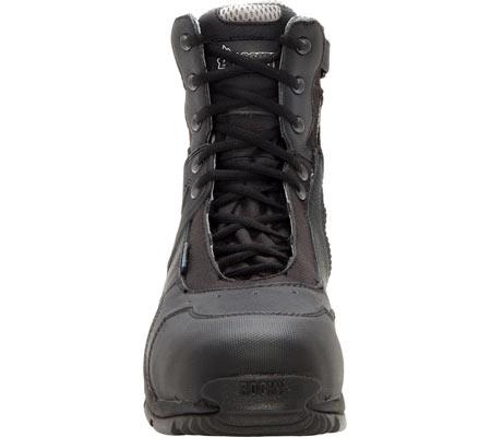 """Rocky 8"""" 1st Med Side Zip Carbon Fiber 911-113, Black, large, image 4"""