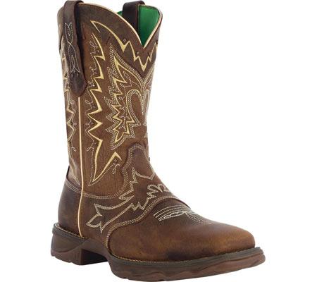 "Women's Durango Boot RD4424 10"" Lady Rebel, Nicotine/Brown, large, image 1"