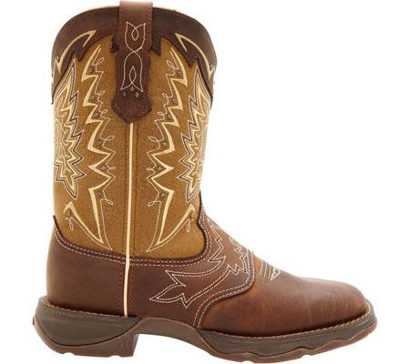 "Women's Durango Boot RD4424 10"" Lady Rebel, Nicotine/Brown, large, image 2"
