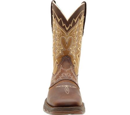 "Women's Durango Boot RD4424 10"" Lady Rebel, Nicotine/Brown, large, image 4"