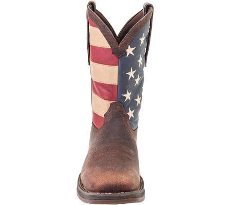 "Men's Durango Boot DB5554 12"" Rebel, Dark Brown, large, image 4"
