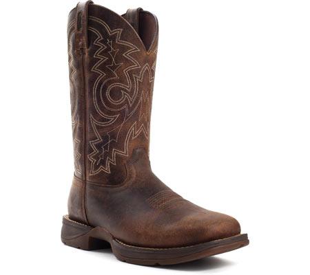 "Men's Durango Boot DB4343 12"" Rebel Boot, Brown, large, image 1"