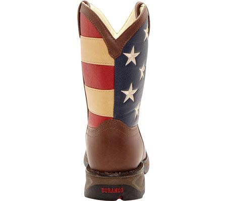 "Boys' Durango Boot BT245 8"" Lil' Durango, Brown/Union Flag, large, image 5"
