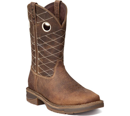 "Men's Durango Boot DB4354 11"" Workin"" Rebel Boot, Nicotine/Chocolate, large, image 1"