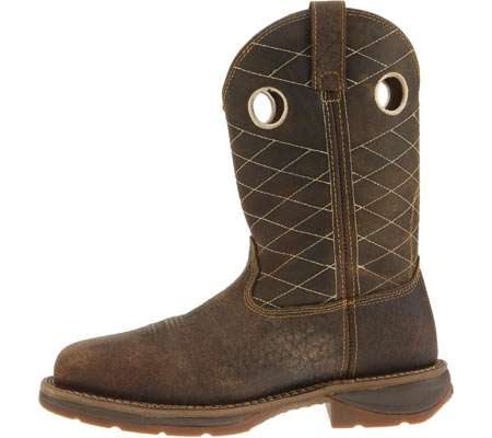 "Men's Durango Boot DB4354 11"" Workin"" Rebel Boot, Nicotine/Chocolate, large, image 3"