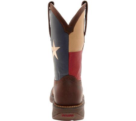 "Men's Durango Boot DB4446 11"" Patriotic, Dark Brown/Texas Flag, large, image 5"