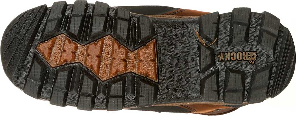 """Men's Rocky 8"""" Core Insulated Outdoor Boot WP 4753, Brown Full Grain Leather/Textile, large, image 7"""