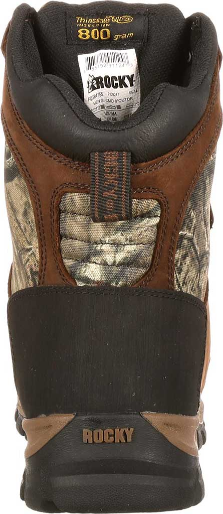 """Men's Rocky 8"""" Core Insulated Outdoor Boot WP 4755, Brown/M0 Infinity Full Grain Leather/Textile, large, image 5"""