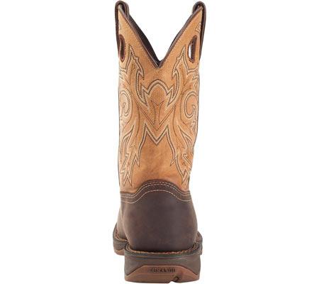 "Men's Durango Boot DB019 11"" Steel Toe WP Western Boot, Brown/Goldenrod, large, image 5"