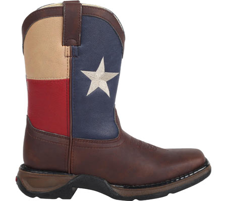 "Boys' Durango Boot BT246 8"" Western, Texas Flag, large, image 2"