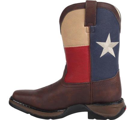 "Boys' Durango Boot BT246 8"" Western, Texas Flag, large, image 3"