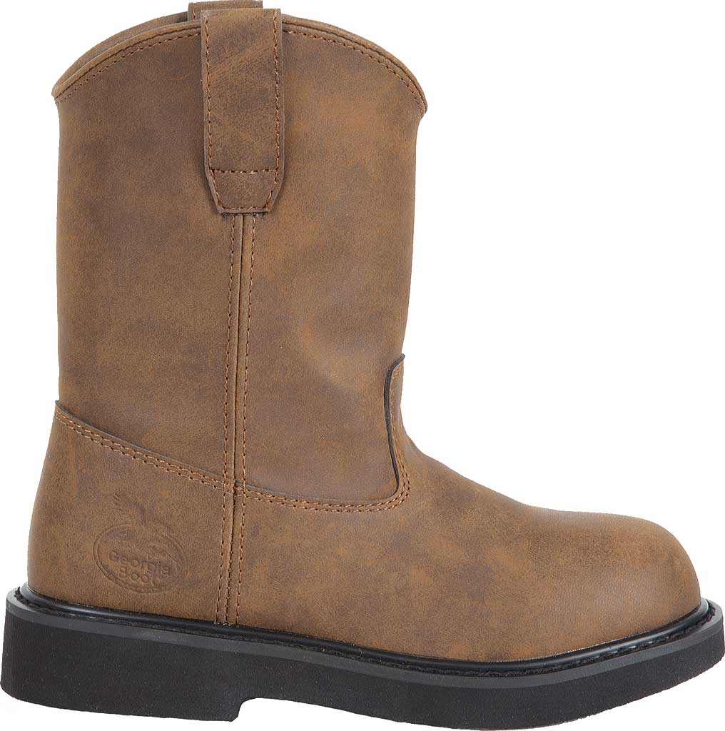 Children's Georgia Boot G099 Pull On Boot, Brown, large, image 1