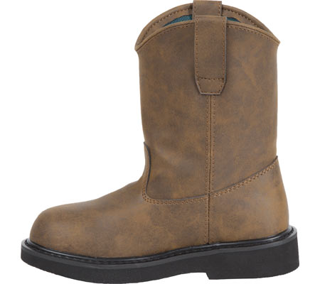 Children's Georgia Boot G100 Adolescent Pull-On Boot, Brown, large, image 2