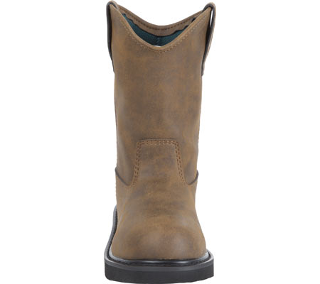 Children's Georgia Boot G100 Adolescent Pull-On Boot, Brown, large, image 3