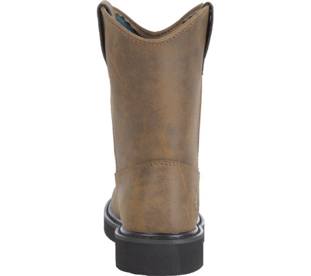 Children's Georgia Boot G100 Adolescent Pull-On Boot, Brown, large, image 4