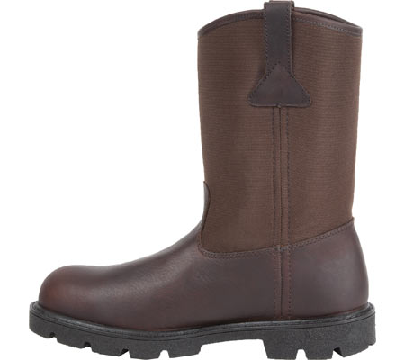 "Men's Georgia Boot G113 11"" Homeland Waterproof Wellington, Brown Full Grain Leather/Cordura, large, image 3"