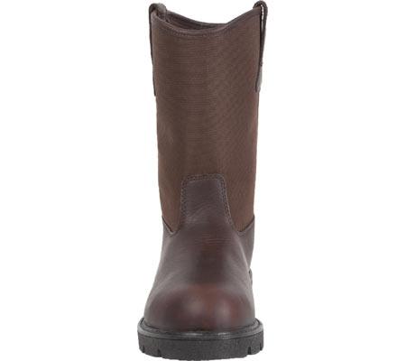 "Men's Georgia Boot G113 11"" Homeland Waterproof Wellington, Brown Full Grain Leather/Cordura, large, image 4"