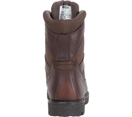 "Men's Georgia Boot G107 8"" Homeland Steel Toe WP Work Boot, Brown Full Grain Leather/Cordura, large, image 5"