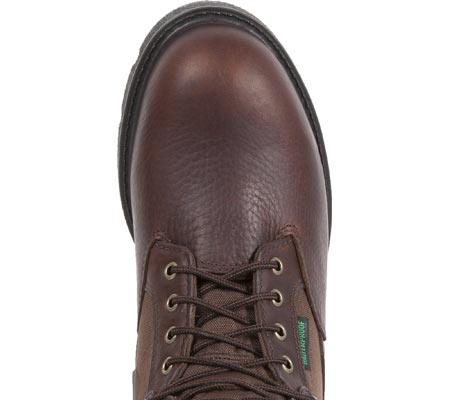 "Men's Georgia Boot G107 8"" Homeland Steel Toe WP Work Boot, Brown Full Grain Leather/Cordura, large, image 6"