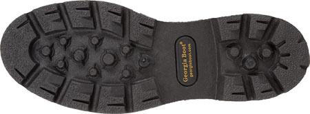 "Men's Georgia Boot G107 8"" Homeland Steel Toe WP Work Boot, Brown Full Grain Leather/Cordura, large, image 7"