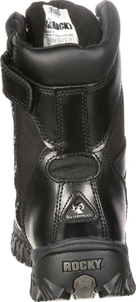 """Men's Rocky 8"""" Alpha Force 400g RKYD011, Black, large, image 5"""