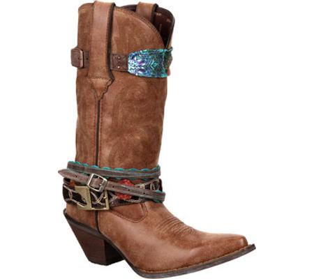 "Women's Durango Boot 12"" Accessorize, Brown, large, image 1"