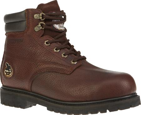 """Men's Georgia Boot G6174 6"""" Oiler Steel Toe, Dark Brown Full Grain Leather, large, image 1"""