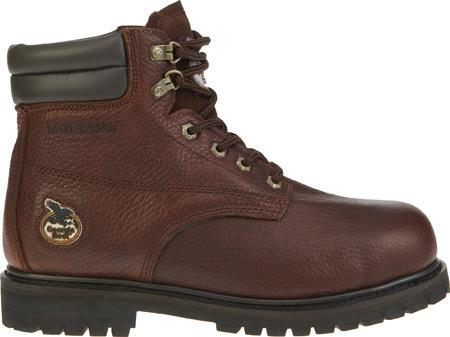 """Men's Georgia Boot G6174 6"""" Oiler Steel Toe, Dark Brown Full Grain Leather, large, image 2"""