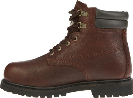 """Men's Georgia Boot G6174 6"""" Oiler Steel Toe, Dark Brown Full Grain Leather, large, image 3"""