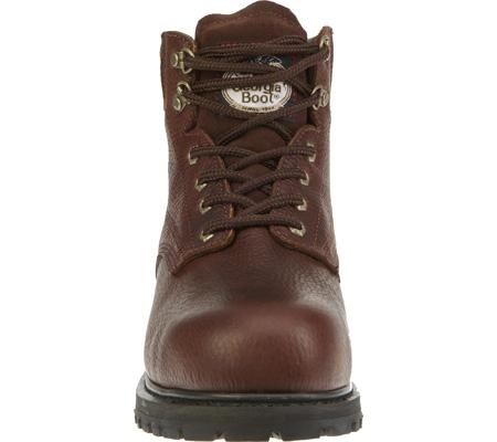 """Men's Georgia Boot G6174 6"""" Oiler Steel Toe, Dark Brown Full Grain Leather, large, image 4"""