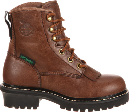 """Children's Georgia Boot GB00001 Youth 5"""" Logger, Brown Goat Skin, large, image 2"""