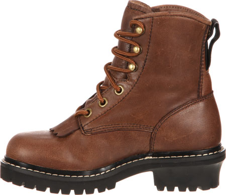 """Children's Georgia Boot GB00001 Youth 5"""" Logger, Brown Goat Skin, large, image 3"""