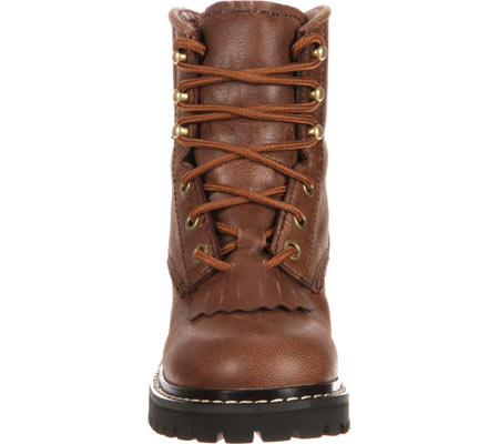 """Children's Georgia Boot GB00001 Youth 5"""" Logger, Brown Goat Skin, large, image 4"""